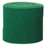 Rouleau de tampon abrasif Nicols - Vert - Longueur 5 m - Largeur 13,5 cm