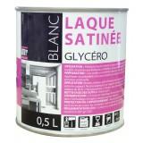 Peinture laque glycéro Batir 1er - Boîte 0,5 l - Satiné - Blanc