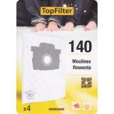 Sac aspirateur domestiques - Rowenta Silence Force - 140 - Vendu par 4