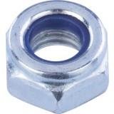 Ecrou hexagonal indesserrable acier zingué  - Diamètre 6mm - 8pces - Fixpro