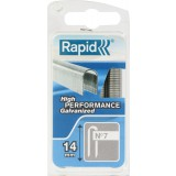 Agrafe câble n°7 Rapid Agraf - Hauteur 14 mm - 960 agrafes