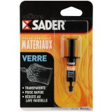 Colle verre Sader - Seringue 2 ml