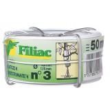 Fil galvanisé plastifié Filiac - Longueur 50 m - Diamètre 1,15 mm - Blanc