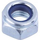 Ecrou hexagonal indesserrable acier zingué  - Diamètre 5mm - 500pces - Fixpro