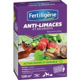 Anti-limaces et escargots appât granulé prêt à l'emploi Fertiligène -  Boite de 450 g