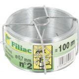 Fil galvanisé Filiac - Longueur 100 m - Diamètre 0,7 mm