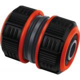 Raccord réparateur Lock de tuyau d'arrosage - Bi-matière - Diamètre 19 mm