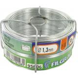 Bobinot galvanisé - Longueur 50 m - Diamètre 1,3 mm