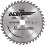 Lame au carbure pour scie à onglet SCID - Epaisseur 3 mm - 40 dents - Diamètre 250 mm - Alésage 30 mm