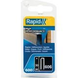 Agrafe n°606 Rapid Agraf - Hauteur 30 mm - 600 agrafes