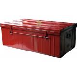 Cantine métal laquée - Longueur 1000 mm - Rouge