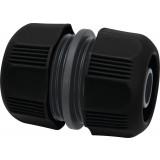 Raccord réparateur de tuyau d'arrosage Connect  Cap Vert - Diamètre 19 mm