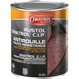Antirouille haute résistance primaire tous supports Rustol C.I.P Owatrol - Boîte 0,75 l