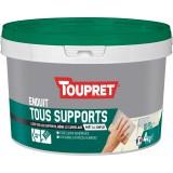 Enduit tous supports pâte Toupret - 4 kg