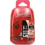Coffret d'ampoules et fusibles pour véhicule Linkar - H1/H7