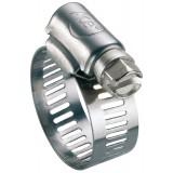Collier à bande perforée W2 largeur bande 13 mm Ace - Diamètre 18 - 28 mm - Vendu par 25