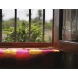 Toile moustiquaire fibre de verre Catral - Gris - Longueur 3 m - Hauteur 1 m