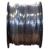 Câble U-1000 R2V noir mètré 6 mm² Dhome - Touret - Longueur 100 m