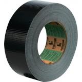 Toile US polyéthylène tissu couché adhésif Scapa - Noir - Largeur 50 mm