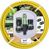 Batterie tuyau d'arrosage Néo Reflex Cap Vert - Diamètre 19 mm - Longueur 20 m
