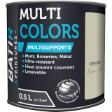 Peinture multi-supports satin soyeux Batir - Ecorce clair - 0,5 l