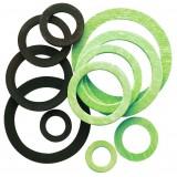 Joint fibre Neptune - Pochette de 100 - Pour filetage 15 x 21 mm - Diamètre intérieur 12 mm - Extérieur 18 mm