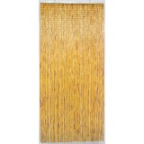 Rideau de porte - Bambou Naturel Morel - 100 x 220 cm