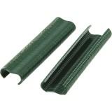 Agrafes à grillage VR16 Rapid Agraf - Plastifiées vertes - 400 agrafes