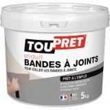 Enduit pâte pour joint plaque de plâtre Toupret - Pot 4 kg