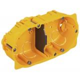 Boîte cloison sèche Legrand - 2 postes - Profondeur 40 mm