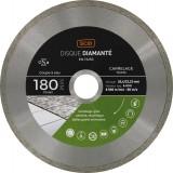 Disque diamanté grés cérame et carrelage SCID - Diamètre 180 mm