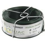 Bobinot plastifié Filiac - Vert - Longueur 50 m