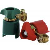 Cosse de batterie Flauraud - Avec coupe-circuit et serre-cables - Type robinet - Vendu par 2