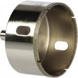 Trépan couronne diamantée avec foret centreur SCID - Diamètre 68 mm