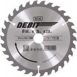 Lame au carbure pour scie circulaire SCID - Epaisseur 2,8 mm - 30 dents - Diamètre 160 mm - Alésage 20 mm