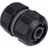 Raccord réparateur de tuyau d'arrosage Connect Cap Vert - Diamètre 13 - 15 mm