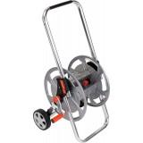 Dévidoir d'arrosage aluminium Spool sur roues  Capvert - Poignée réglable