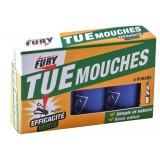 Mouches Fury - Ruban écologique - Etui de 4