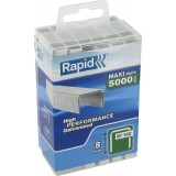 Agrafe n°140 Rapid Agraf - Hauteur 8 mm - 5000 agrafes