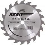 Lame au carbure pour scie circulaire SCID - Epaisseur 2,8 mm - 20 dents - Diamètre 190 mm - Alésage 16 mm