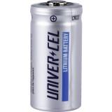 Pile miniature Lithium Univercel - CR123 - 3 V
