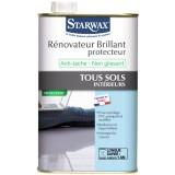 Rénovateur protecteur brillant tous sols intérieurs Starwax - Bidon 1 l
