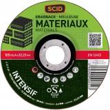 Disque à ébarber SCID - Matériaux - Diamètre 125 mm