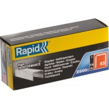 Agrafe n°53 Rapid Agraf - Hauteur 14 mm - 2500 agrafes