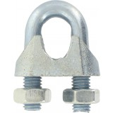 Serre-câble à étrier Chapuis - Etrier acier zingué - Diamètre Câble 5 mm - Vendu par 10