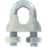 Serre-câble à étrier Chapuis - Etrier acier zingué - Diamètre Câble 8 mm - Vendu par 10