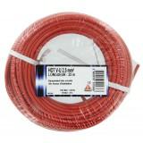 Fil H07 V-U 2,5 mm² Dhome - Longueur 25 m - Rouge
