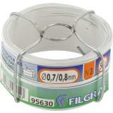Bobinot plastique - Diamètre 0,8 mm - Blanc