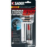 Colle époxy Turbo Resist Sader - Tube 10 g