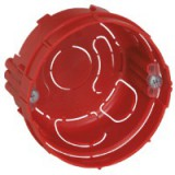 Boîte maçonnerie Legrand - 1 poste ronde - Profondeur 40 mm - Diamètre 68 mm
